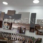 Deko Delikli Model Modern Ayna-2