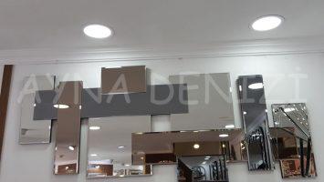 Deko Delikli Model Modern Ayna