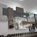 Deko Delikli Model Modern Ayna-4