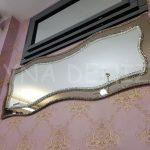 Bükümlü Çift Taş Model Taşlı Ayna-3