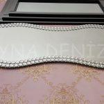 Bükümlü Taş Model Taşlı Ayna-7