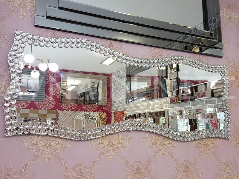 Bükümlü Taş Model Taşlı Ayna