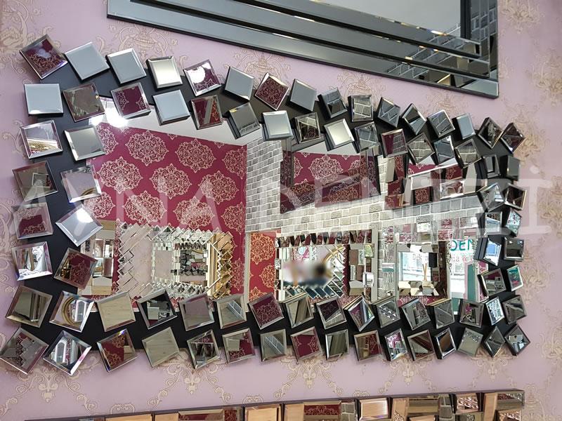 Cube Model Modern Ayna