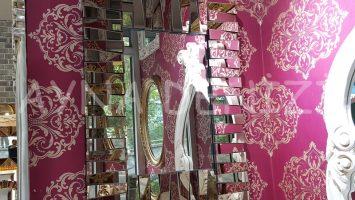 Eksen Model Modern Ayna