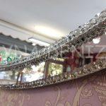 Elips Çift Taş Model Taşlı Ayna-14