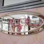 Elips Çift Taş Model Taşlı Ayna-3