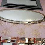 Elips Çift Taş Model Taşlı Ayna-5