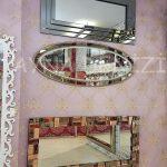 Elips Çift Taş Model Taşlı Ayna-6