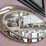 Elips Çift Taş Model Taşlı Ayna-7