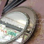 Elips Çift Taş Model Taşlı Ayna-8