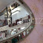 Elips Çift Taş Model Taşlı Ayna-9