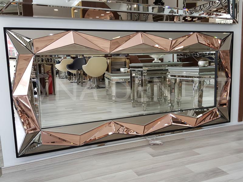 Yeni Piramit Model Modern Ayna