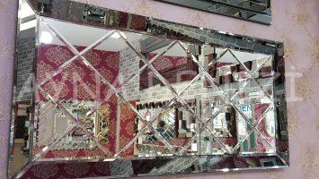 Baklava Model Modern Ayna