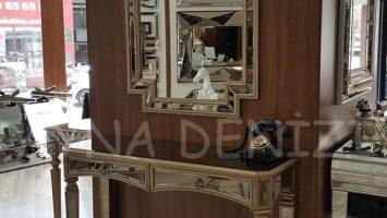 Garf Model Aynalı Dresuar Takımı