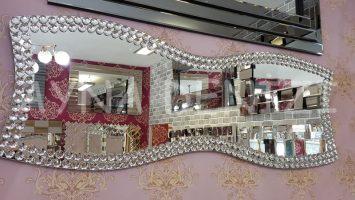 Papyon Taş Model Taşlı Ayna