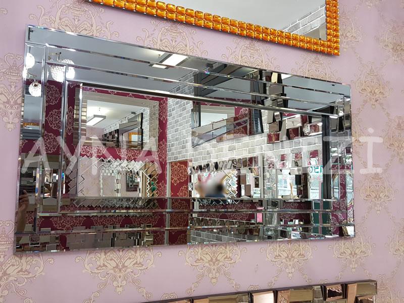 Üç Katlı Model Modern Ayna