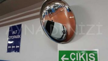 30 cm Bombeli Trafik Otopark Güvenlik Aynası