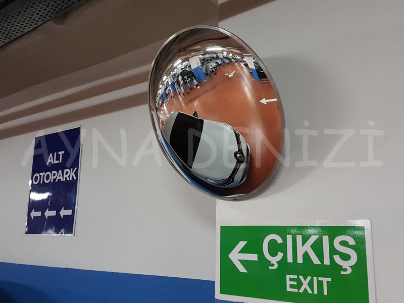 80 cm Bombeli Trafik Otopark Güvenlik Aynası