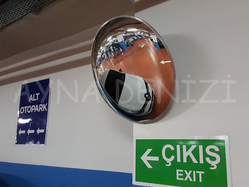 90 cm Bombeli Trafik Otopark Güvenlik Aynası