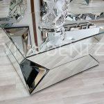 Diagonal Model Aynalı Orta Sehpa-1