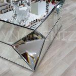 Diagonal Model Aynalı Orta Sehpa-10