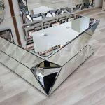 Diagonal Model Aynalı Orta Sehpa-4