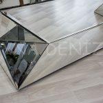 Diagonal Model Aynalı Orta Sehpa-6