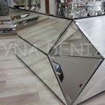 Diagonal Model Aynalı Orta Sehpa-7