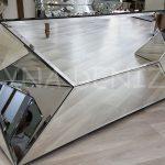 Diagonal Model Aynalı Orta Sehpa-8