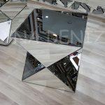 Diagonal Model Aynalı Yan Sehpa-3