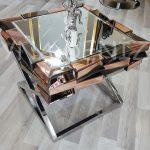 Rüzgar Model Aynalı Yan Sehpa-2