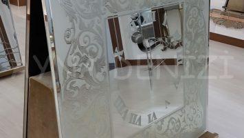 As 17 Model Aynalı Duvar Saati