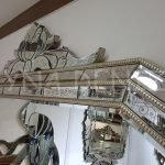 Boncuklu Vanessa Model Venedik Ayna-3