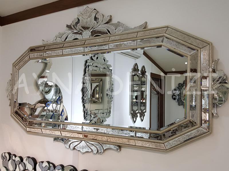 Boncuklu Vanessa Model Venedik Ayna