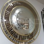 Luxury Model Aynalı Duvar Saati-2
