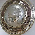 Luxury Model Aynalı Duvar Saati-3