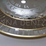 Luxury Model Aynalı Duvar Saati-5