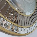 Luxury Model Aynalı Duvar Saati-6