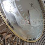 Luxury Model Aynalı Duvar Saati-7