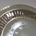 Luxury Model Aynalı Duvar Saati-8