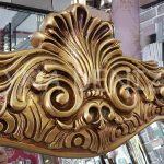 Bihter Model Altın Renk Ayaklı Boy Aynası-6