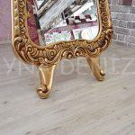 Bihter Model Altın Renk Ayaklı Boy Aynası-9