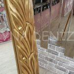 Zarif Model Altın Renk Ayaklı Boy Aynası-12