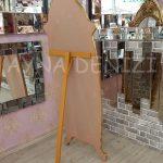 Zarif Model Altın Renk Ayaklı Boy Aynası-17