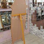 Zarif Model Altın Renk Ayaklı Boy Aynası-18