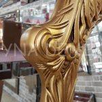Zarif Model Altın Renk Ayaklı Boy Aynası-8