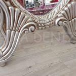 Zarif Model Gümüş Renk Ayaklı Boy Aynası-12