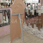 Zarif Model Gümüş Renk Ayaklı Boy Aynası-18