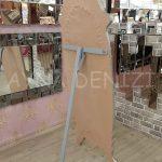 Zarif Model Gümüş Renk Ayaklı Boy Aynası-19