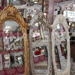 Zarif Model Gümüş Renk Ayaklı Boy Aynası-22